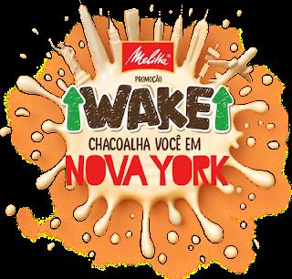"""Promoção """"Wake Chacoalha você em Nova York"""""""