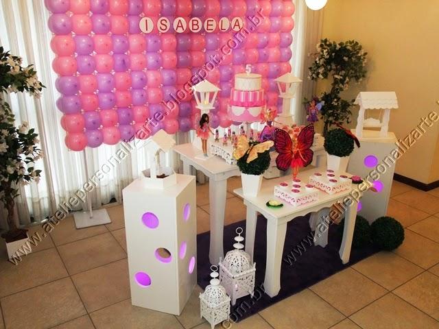 decoracao de festa infantil barbie butterfly porto alegre