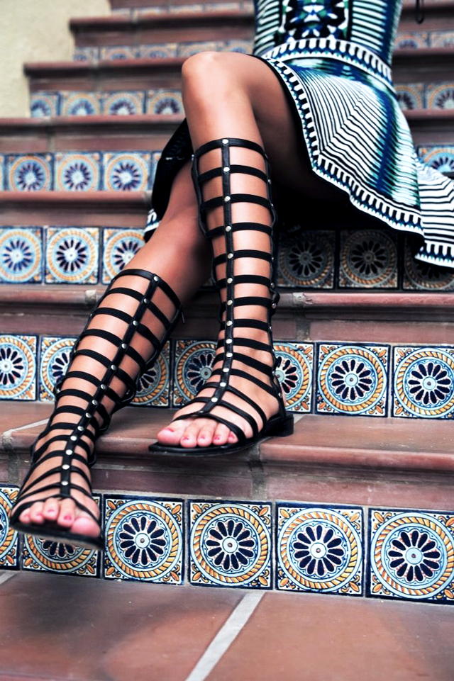 Trend, spring summer, sandals, 2015, gladiator sandals, sparta sandals, lace up sandals, street style, inspiration