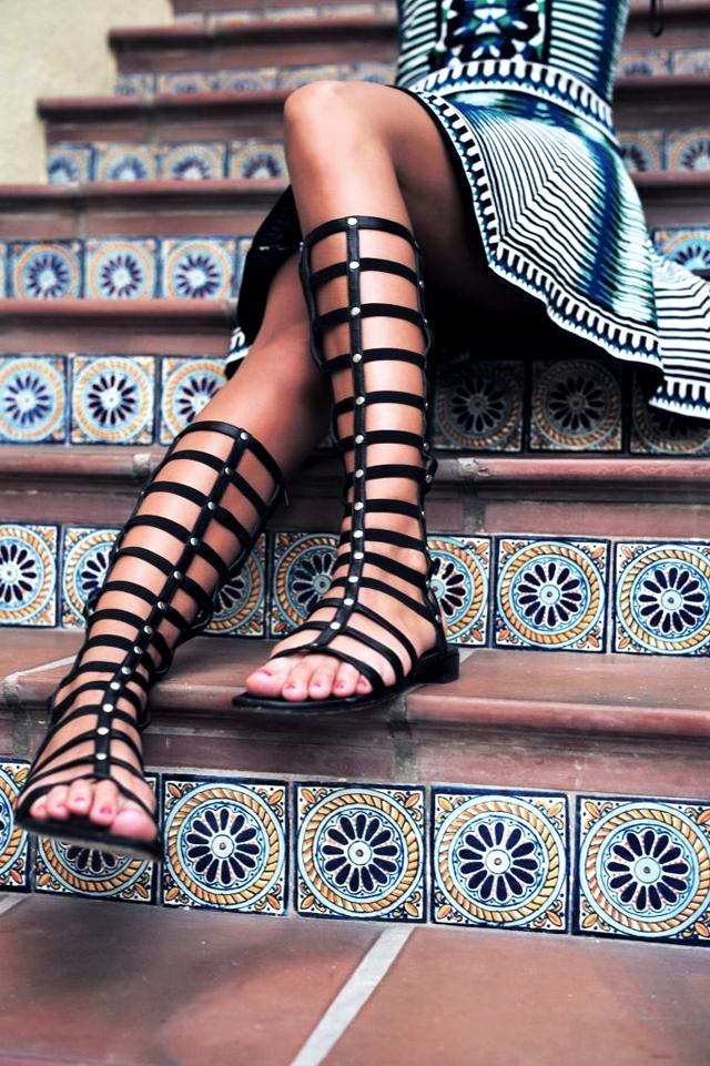 Trend, spring summer, sandals, 2015, gladiator sandals, sparta sandals, lace up sandals, street style, inspiration