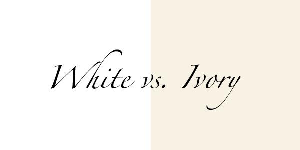 Lilla's Bridal Boutiqu... Ivory Color Vs Off White