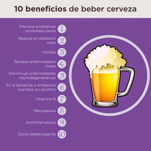 10 beneficios de beber