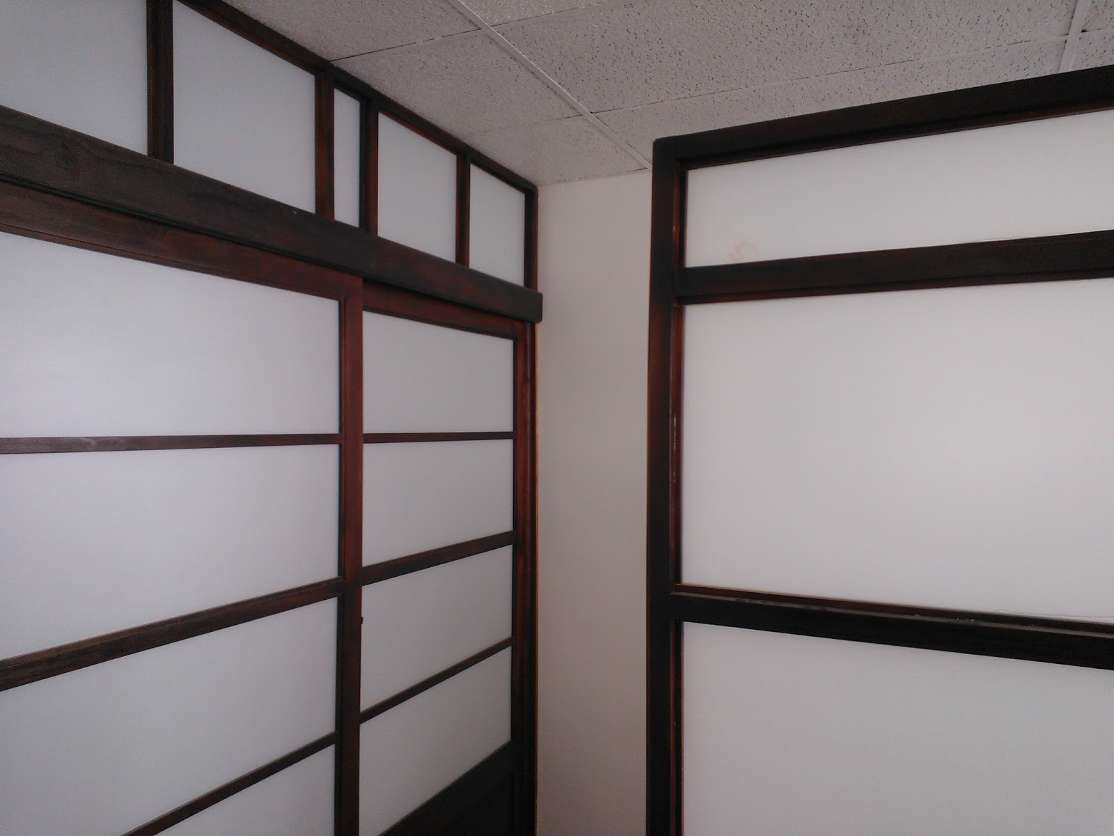 Puertas correderas paneles shoji puertas de madera shoji - Puertas shoji ...