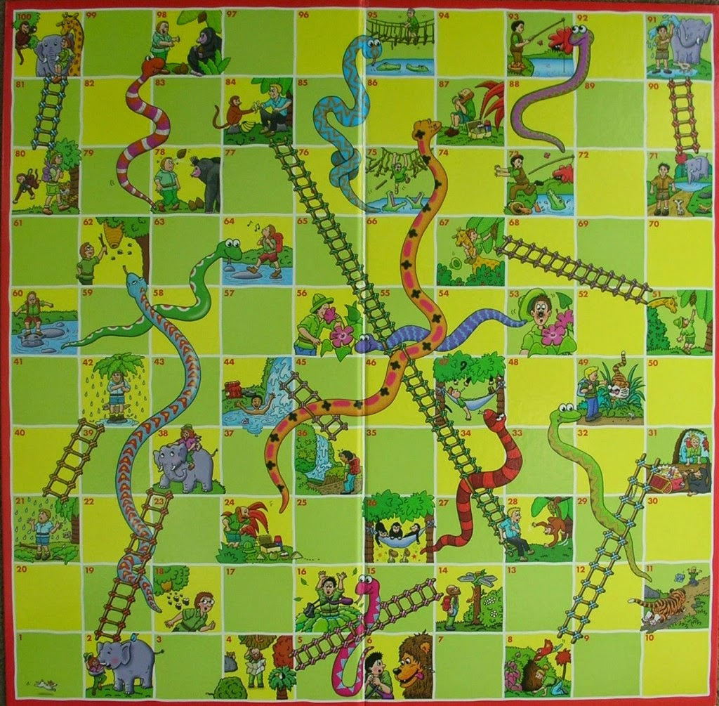 My Spanish Teacher Game Snakes And Ladders