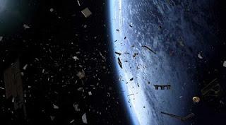 Gempar ! Serpihan Roket Bakalan Jatuh ke Bumi 13 November Nanti Siap-siap Hancur Lebur