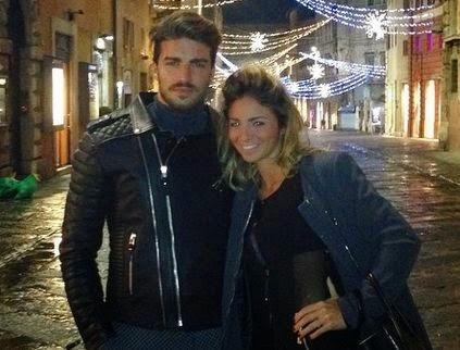 Mariano Di Vaio e la fidanzata Eleonora