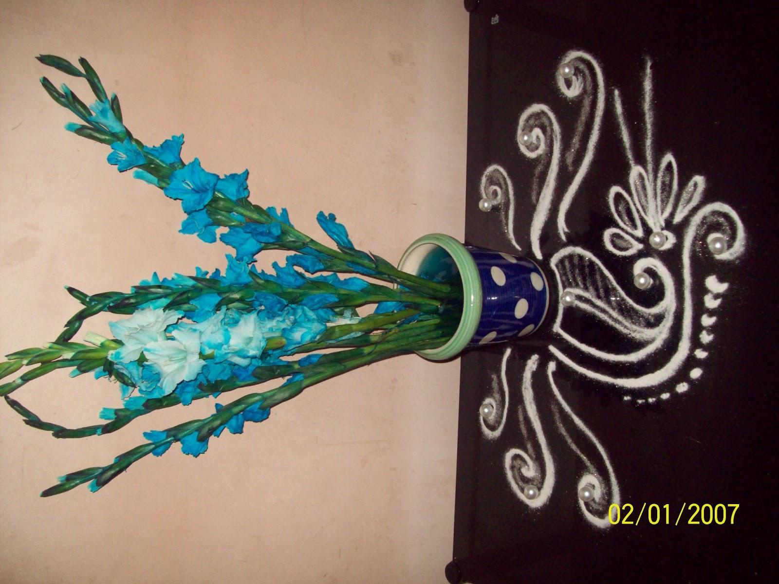 Rangolis: Decoratives, corner and Sanskar rangolis....
