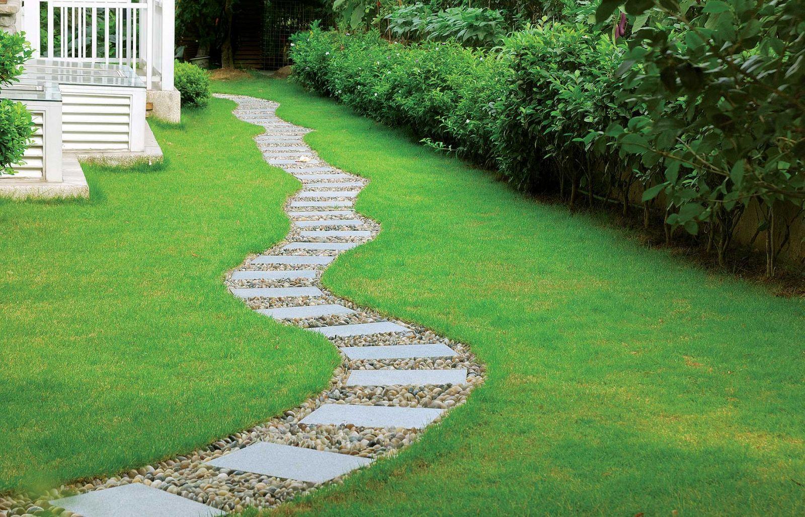Сделать дорожки в саду