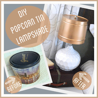 Use a Popcorn Tin to Make a Lampshade