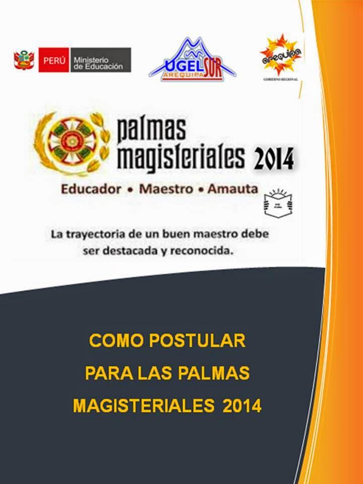 COMO POSTULAR A LAS PALMAS MAGISTERIALES 2014