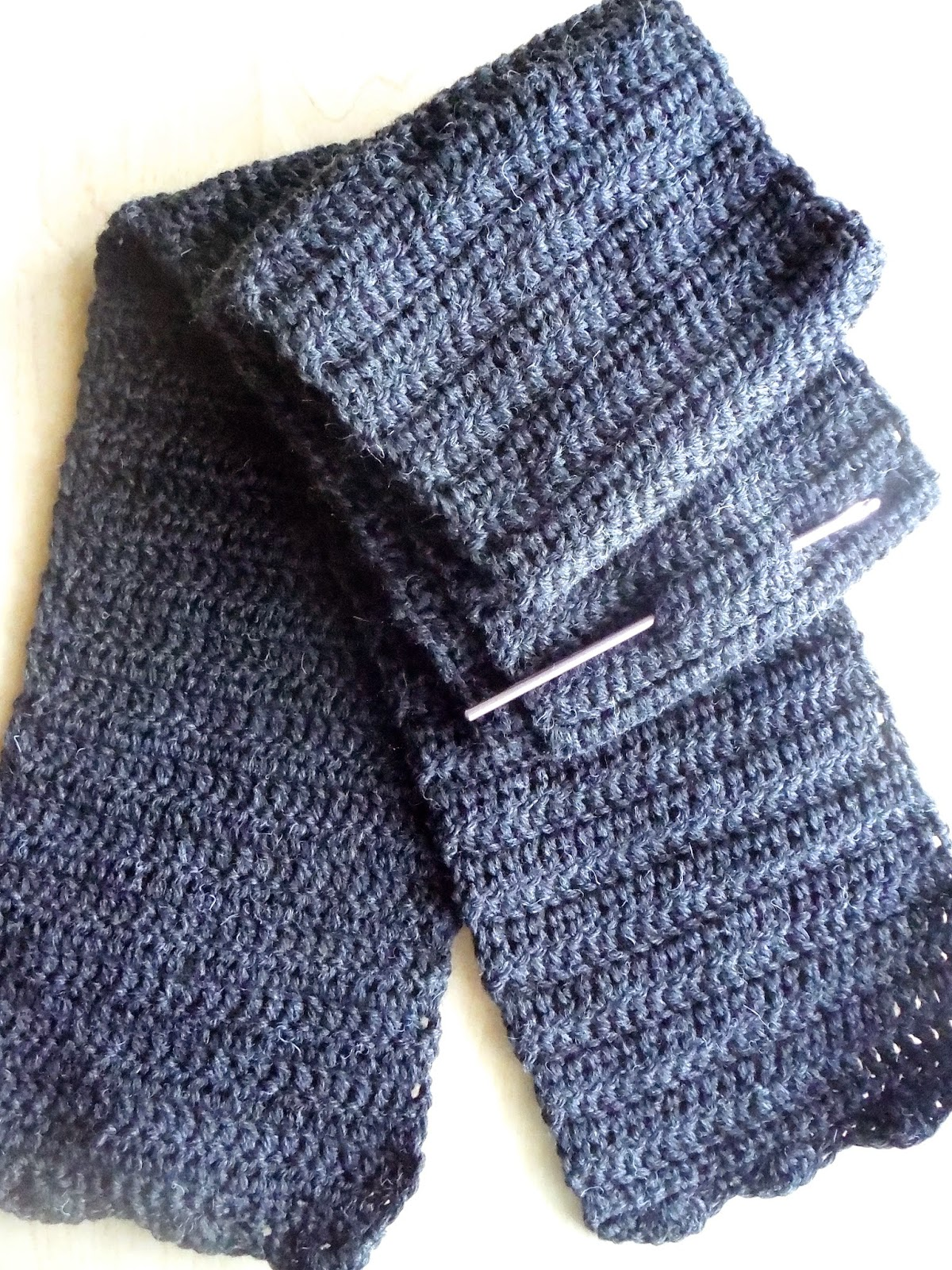 Double Crochet Scarf