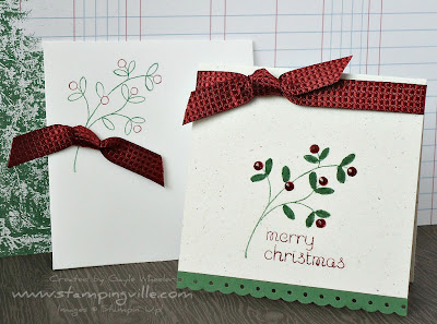 Christmas stamp Easy Events by Stampin' Up!