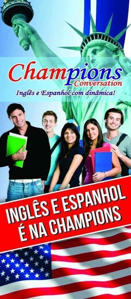 Faca inglês , Espanhol e Alemão com Dinâmica na Champions