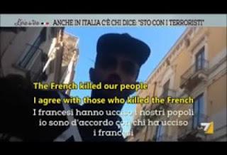 Ρεπορτάζ σοκάρει την Ιταλία: «Καλά έκαναν στους Γάλλους, 8 Δεκέμβρη θα χτυπηθεί και η Ρώμη! Μην τα βάζετε με τον Αλλάχ»