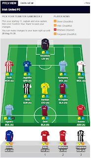 formasi fantasy premier league
