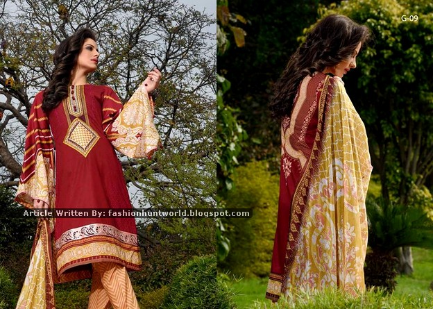 Gohar Lawn Collection 2015-2016 - 03