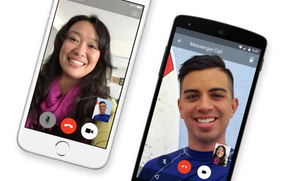 Facebook,Facebook video calls Messenger