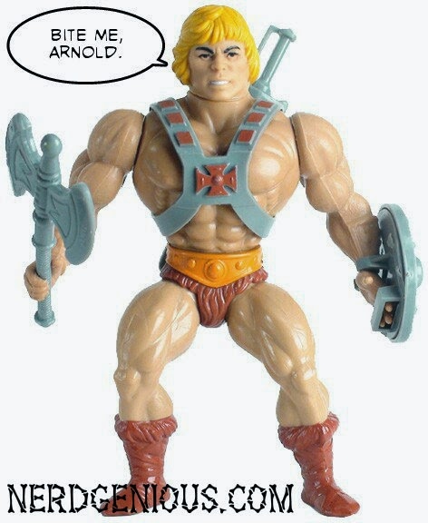 Classic 1980s He-Man Masters of the Universe action figure
