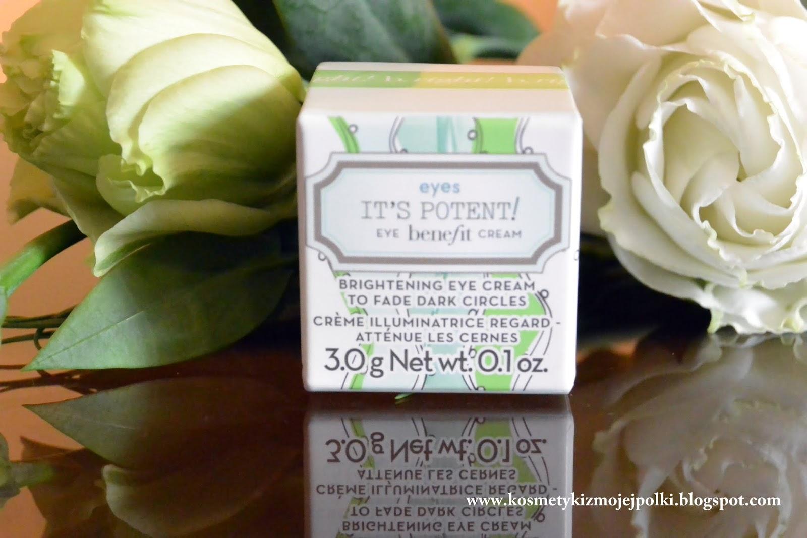 It`s Potent Eye Cream | Rozświetlający krem pod oczy Benefit
