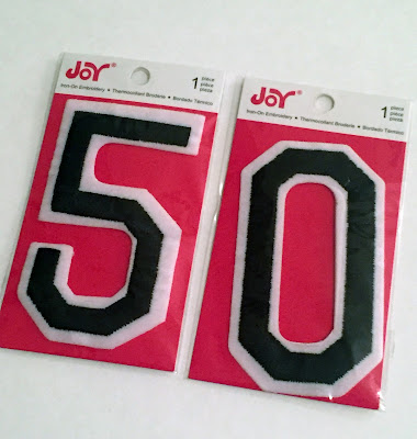 embroidered iron on numbers