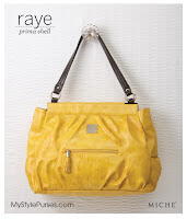 Miche Raye Prima Shell - Large Yellow Purse