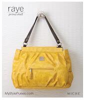 Miche Raye Prima Shell - Large Yellow Purse