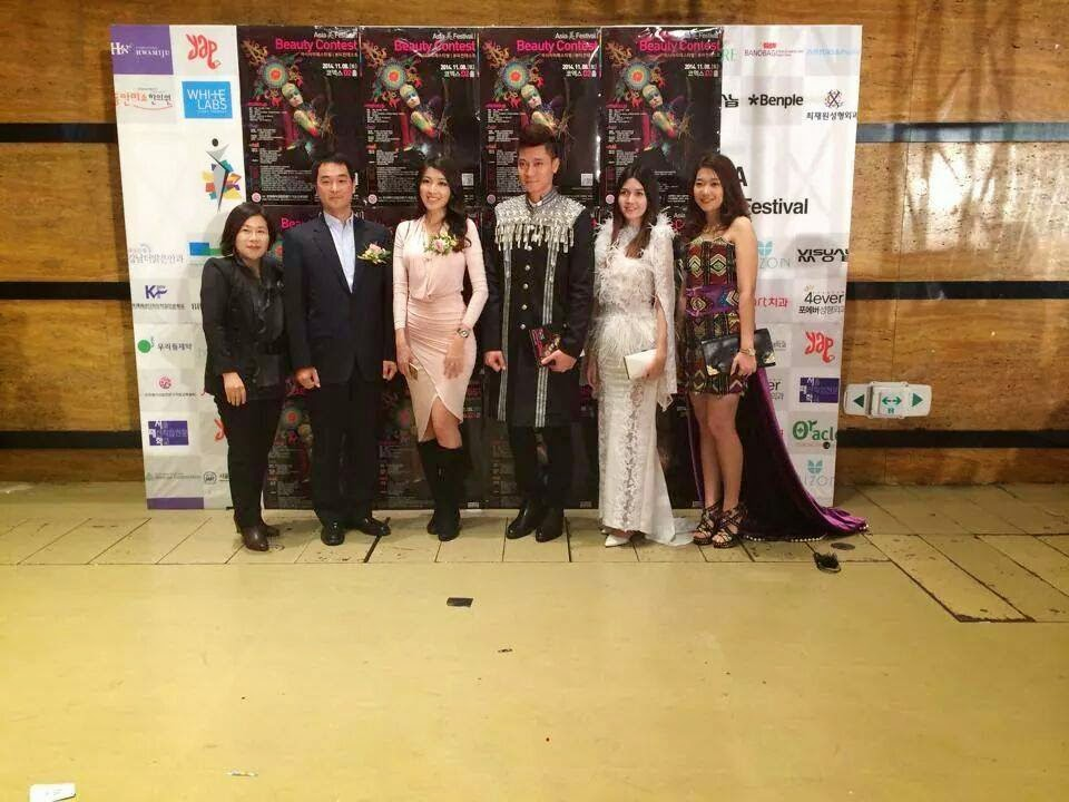 Moe Set Wine at Asia Beauty Festival Opening Ceremony