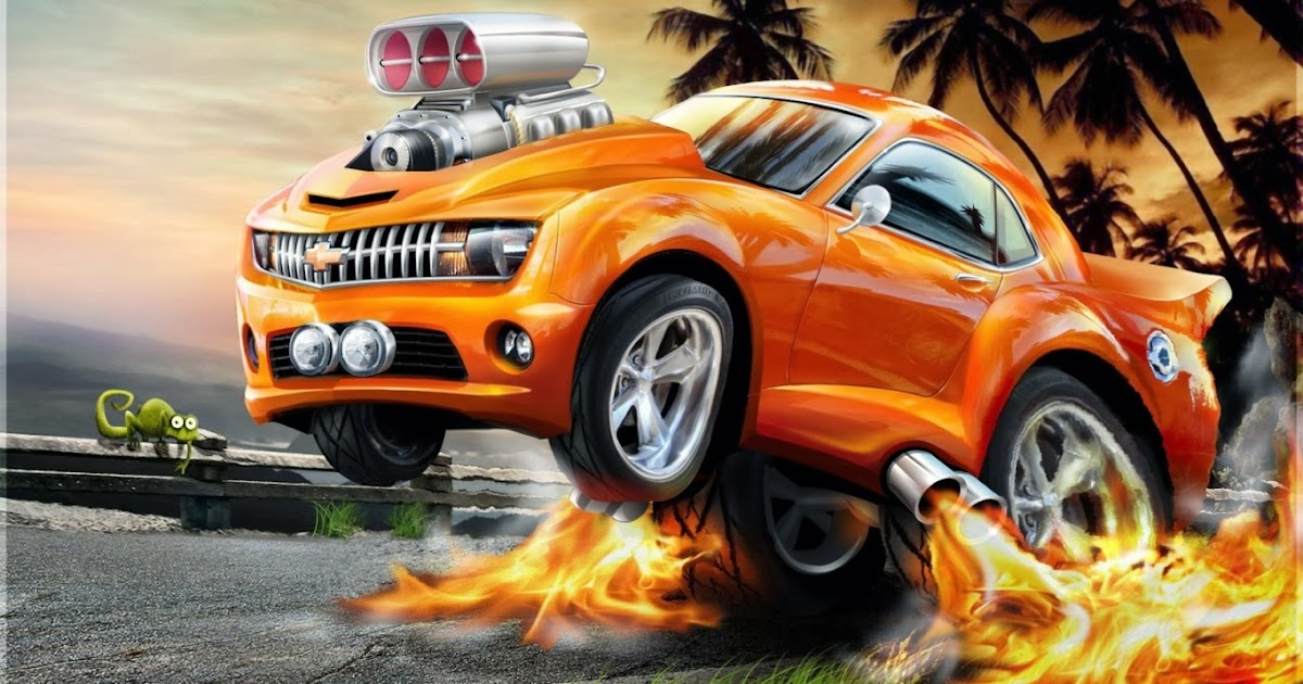 Cartoon Car In City Desktop Backgrounds Widescreen and HD ...