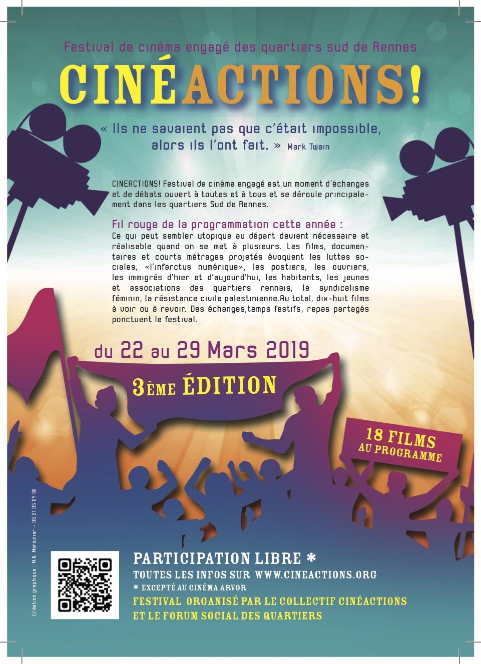 Festival de cinéma à Rennes