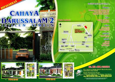 Rumah Subsidi Tambun Bekasi Cahaya Darussalam 2