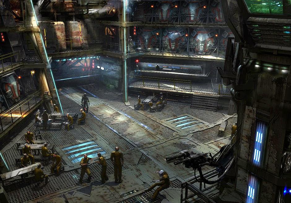 Guardians Of The Galaxy Concept Art Nova