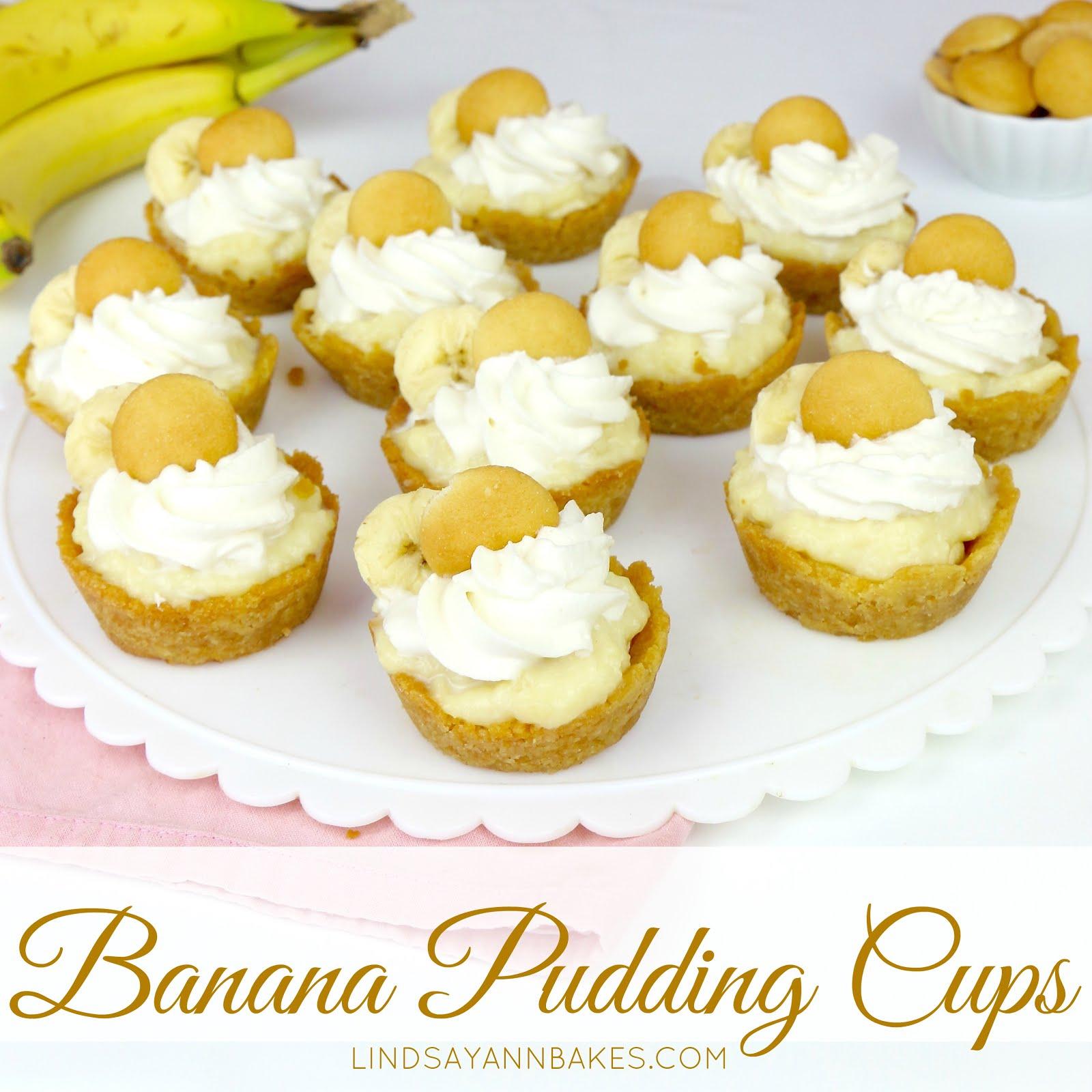 Video Mini Banana Pudding Cups The Lindsay Ann