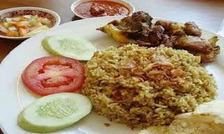Nasi Samin Khas Kalimantan Selatan
