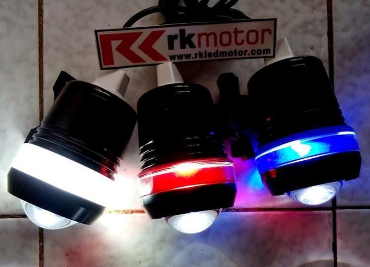 RK MOTOR | LAMPU PROJECTOR HID | LAMPU LED CREE