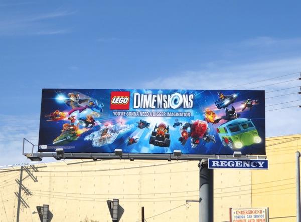 Lego Dimensions billboard