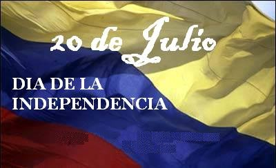 el dia de la independencia en colombia: