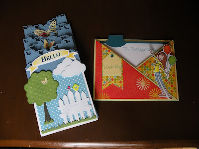 Two Polka Dot Cards