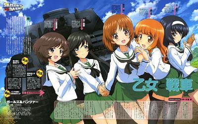 anime Girls und Panzer