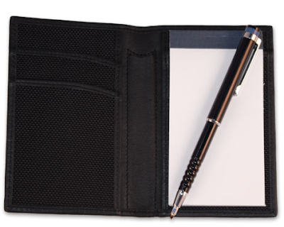 small note-taking pad