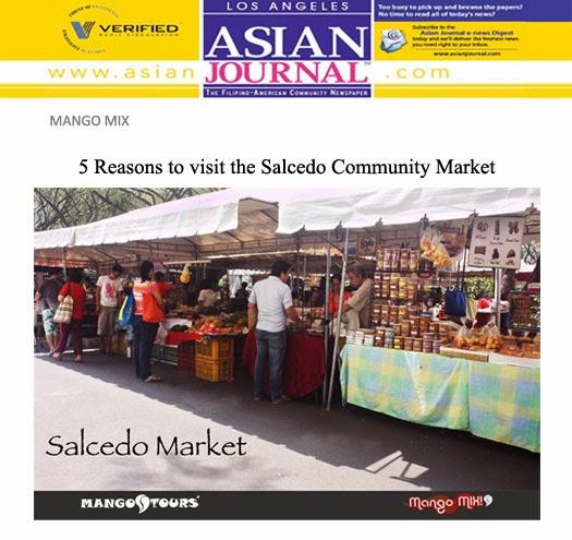 Mango Tours Mango Mix Salcedo Market Makati
