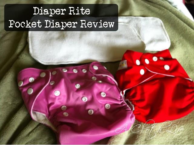 diaper rite pocket diaper review