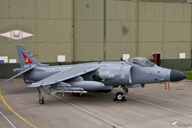 FA2 Sea Harrier Fighter Aircraft Picture