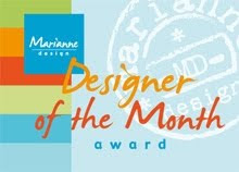 Marianne Design - Designer of the Month Award