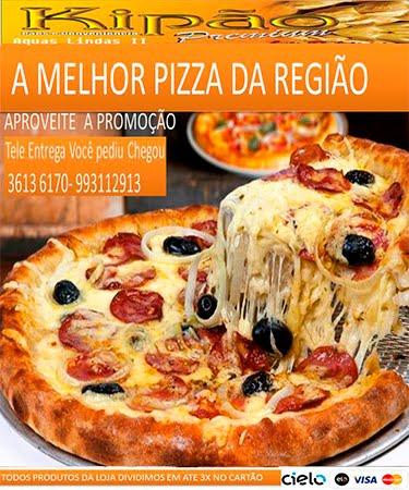 publicidade kipão pizza