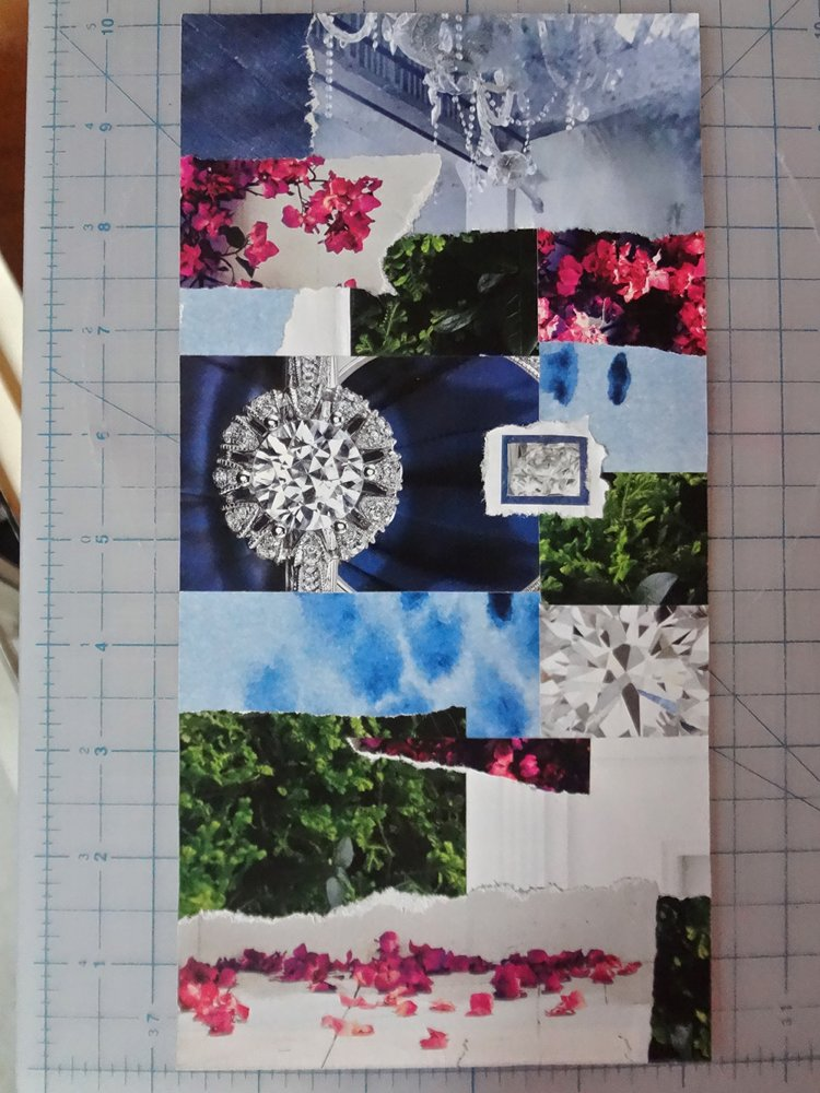 how to make a collage cutting out pictures