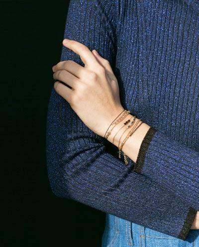 zara fine bracelet, zara chain bracelet, zara gold bracelet,