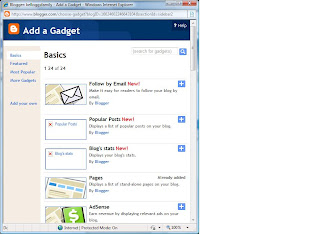 pages gadget blogspot