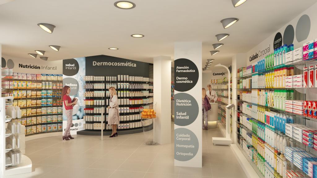 Resultado de imagen de visual merchandising farmacia