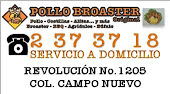 LAS CHOAPAS POLLO BROASTER. SERVICIO A DOMICILIO