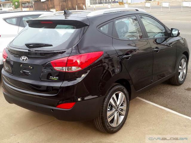Novo Hyundai ix35 2016 - traseira